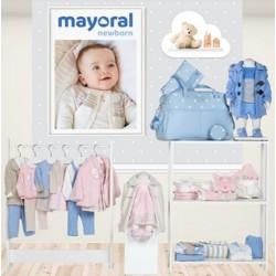 Mayoral nowa kolekcja jesień zima 2018 2019 zestaw NEWBORN BLUE ROSA rozmiary 50-80