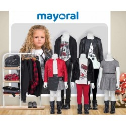 Mayoral nowa kolekcja jesień zima 2018 2019 zestaw MINI MISS PUNK STAR rozmiary 92-170