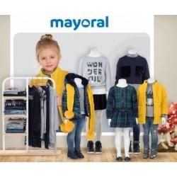 Mayoral nowa kolekcja jesień zima 2018 2019 zestaw MINI SHINNY MIDNIGH BLUE rozmiary 92-170