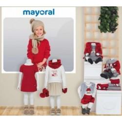 Mayoral nowa kolekcja jesień zima 2018 2019 zestaw BABY MINI CUENTO DE NAVIDAD rozmiary 68-134