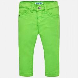 Mayoral spodnie 2566-80 barwione super slim fit dla chłopca