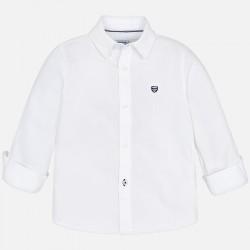 Mayoral koszula 146-49 biała z długim rękawem