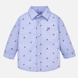 Mayoral koszula 2130-23 z nadrukiem z długim rękawem dla chłopca