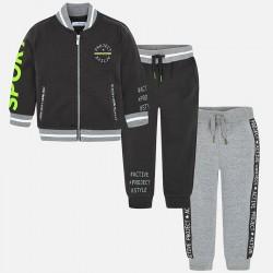 Mayoral dres 4810-67 z 2 parami spodni i bluzą bejsbolówką dla chłopca