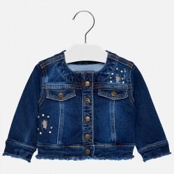 Mayoral Kurtka 2474-44 jeansowa dla dziewczynki