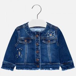 Mayoral Kurtka 2474-45 jeansowa dla dziewczynki