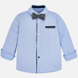 Mayoral koszula 4138-93 z długim rękawem i z muszką dla chłopca