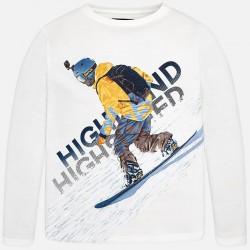 """Mayoral Bluzka 7006-31""""snowboard"""" z długim rękawem"""