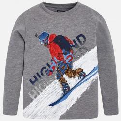 """Mayoral Bluzka 7006-32 """"snowboard"""" z długim rękawem"""