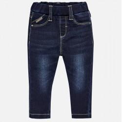 Mayoral Spodnie 576-26 super skinny fit jeansowe dla dziewczynki