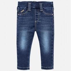 Mayoral Spodnie 576-25 super skinny fit jeansowe dla dziewczynki