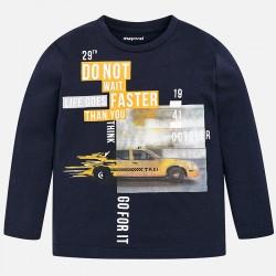 Mayoral bluzka 4018-65 z długim rękawem z taksówką dla chłopca