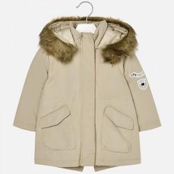 Mayoral kurtka 4401-35 parka z serży dla dziewczynki