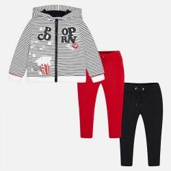 Mayoral Dres 4818-56 z 2 parami spodni dla dziewczynki