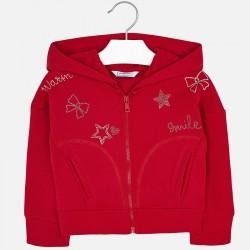 Mayoral bluza 4421-92 dla dziewczynki ze strassem