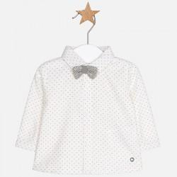 Mayoral Koszula 2104-47 z muszką z długim rękawem dla chłopca