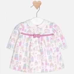 Mayoral sukienka 2816-19 z dzianiny dla dziewczynki