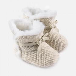 Mayoral Buty 9927-32 niemowlęce trykotowe dla dziewczynki