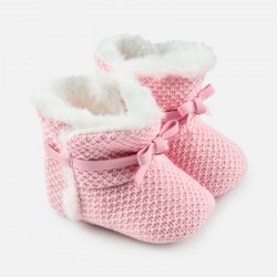Mayoral Buty 9927-33 niemowlęce trykotowe dla dziewczynki