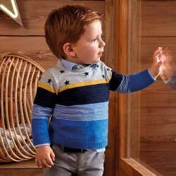 Mayoral Sweter 2302-73 z gwiazdkami dla chłopca