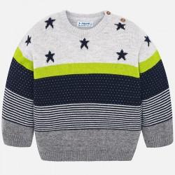 Mayoral Sweter 2302-75 z gwiazdkami dla chłopca