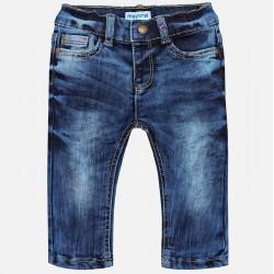 Mayoral Spodnie 2554-05 jeansowe z kieszeniami dla chłopca Regular fit