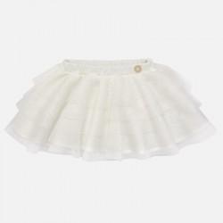 Mayoral spódnica 2900-40 z tiulem dla dziewczynki
