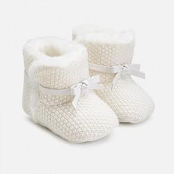 Mayoral Buty 9927-34 niemowlęce trykotowe dla dziewczynki