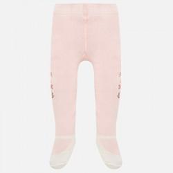 Mayoral rajstopy 10452-78 kolor różowy Żakardowe dla dziewczynki