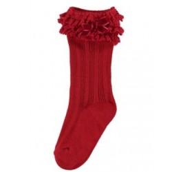 Mayoral Skarpetki 10457-65 kolor czerwony dla dziewczynki