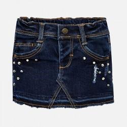 Mayoral Spódnica 2902-28 soft denim dla dziewczynki