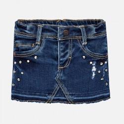 Mayoral Spódnica 2902-29 soft denim dla dziewczynki