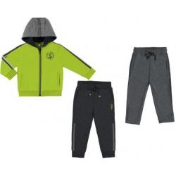 Mayoral Dres 4812-74 z bluzą i 2 parami spodni dla chłopca