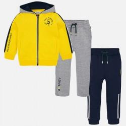 Mayoral Dres 4812-72 z bluzą i 2 parami spodni dla chłopca