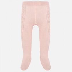Mayoral rajstopy 10454-77 z falbanką kolor różowy baby