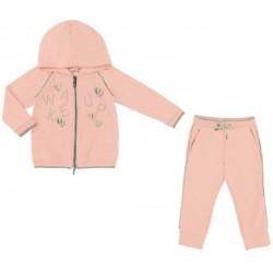 Mayoral Dres 4814-37 z ozdobami dla dziewczynki