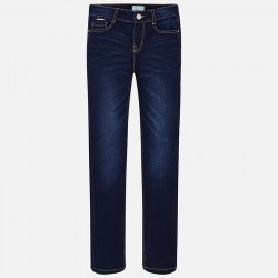 Mayoral Spodnie 80-16 Dziewczęce jeansy Regular Fit