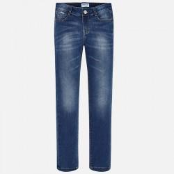 Mayoral Spodnie 80-17 Dziewczęce jeansy Regular Fit
