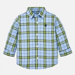 Mayoral Koszula 2132-33 z długim rękawem w kratę dla chłopca