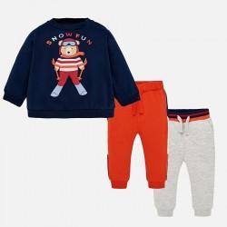 Mayoral Dres 2884-80 z 2 parami spodni dla chłopca