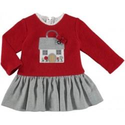 Mayoral Sukienka 2912-95 z domkiem dla dziewczynki
