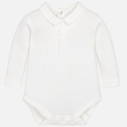 Mayoral Body 2701-70 kolor ecri z koszulowym kołnierzem dla chłopca