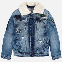Mayoral Kurtka 7460-05 jeansowa dla chłopca