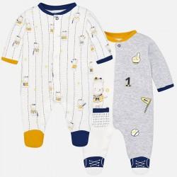 Mayoral Zestaw 2744-86 2szt piżamek chłopięcych