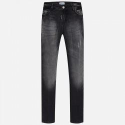 Mayoral Jeansowe spodnie 7542-16 łączone dla dziewczynki regular fit
