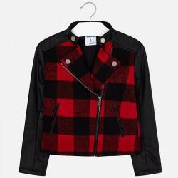 Mayoral Kurtka 7458-32 Łączona kurtka dla dziewczynki