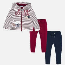 Mayoral Dres 4818-57 z 2 parami spodni dla dziewczynki