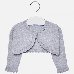 Mayoral sweterek 308-24 bolerko trykotowe z długim rękawkiem