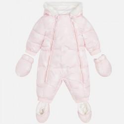 Mayoral Kombinezon 2614-28 z microfibry we wzory dla niemowlaka