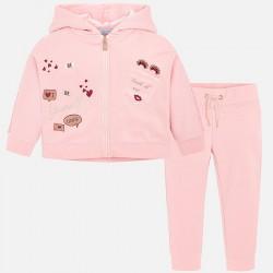 Mayoral Welurowy dres 4820-26 dla dziewczynki